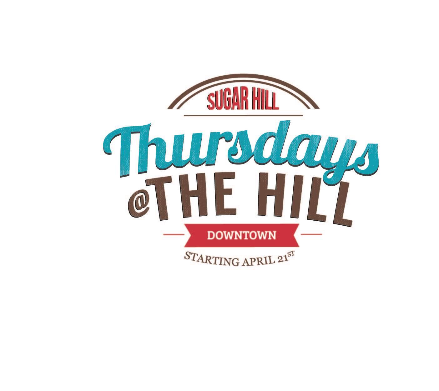 thursdays at the hill 2016 logo