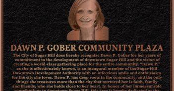 Dawn P Gober Plaque