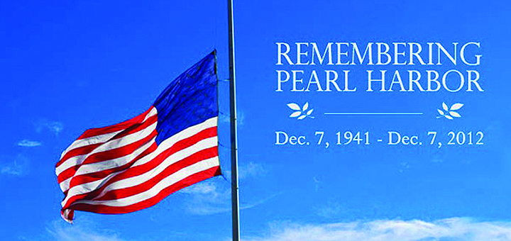 Remember December 7th >> Flags at Half-Staff in Honor of National Pearl Harbor Remembrance Day – December 7th, 2016