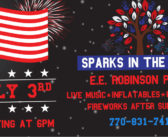 Sparks in the Park – July 3rd, 2017
