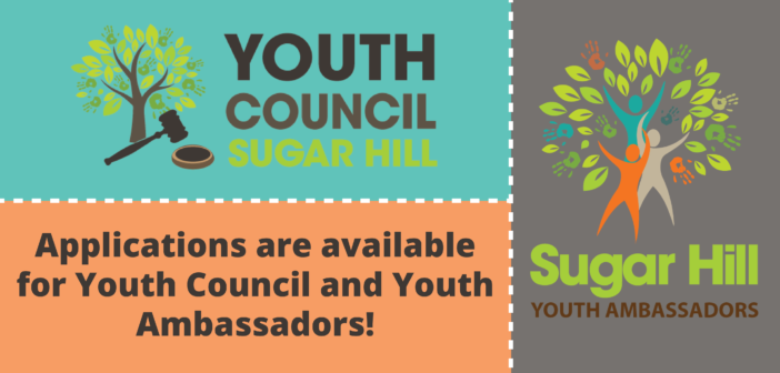 Youth Council and Youth Ambassador Applications Due August 25