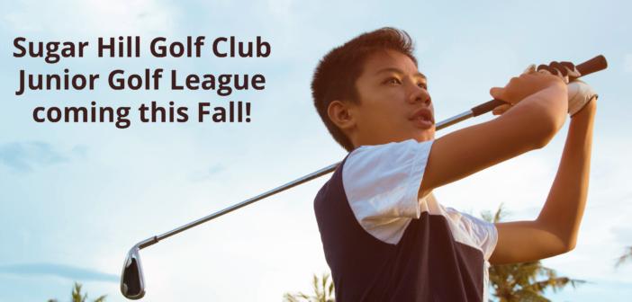 Junior Golf League Coming This Fall