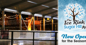 Ice Rink @ Sugar Hill Now Open