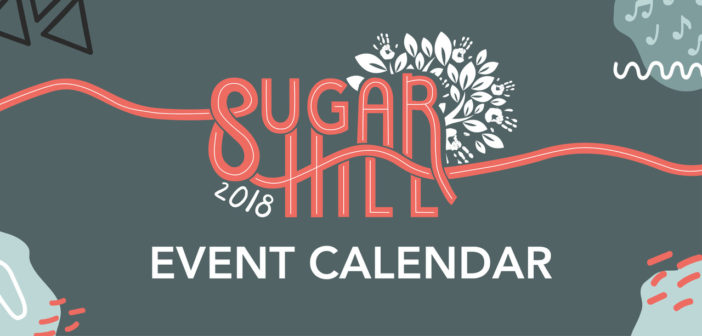 2018 Sugar Hill Events