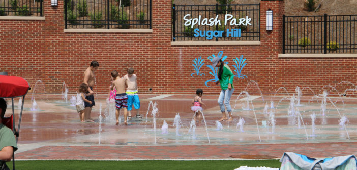 Splash Park Now Open