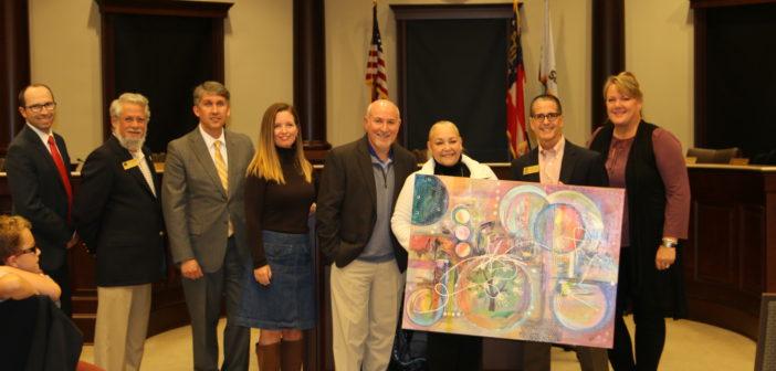 Artist Vivian Antonini Donates Art Work