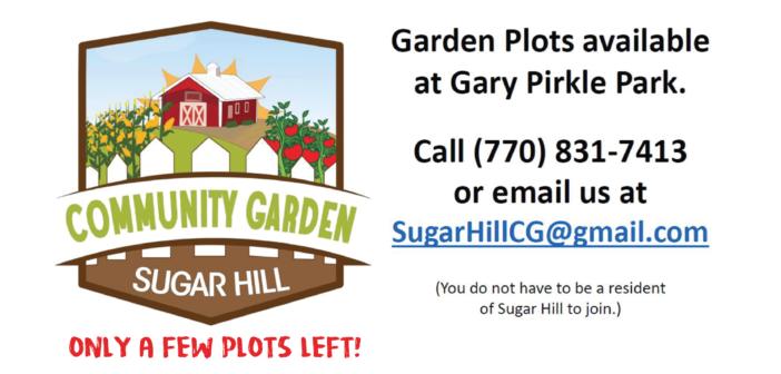 Only 3 garden plots still available at Gary Pirkle Park