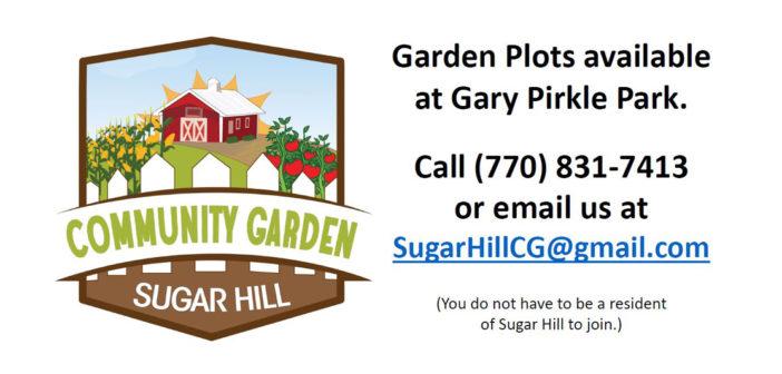 Garden plots available at Gary Pirkle Park
