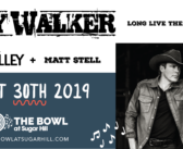 Clay Walker @ The Bowl at Sugar Hill August 30th. Tickets On Sale Now!!
