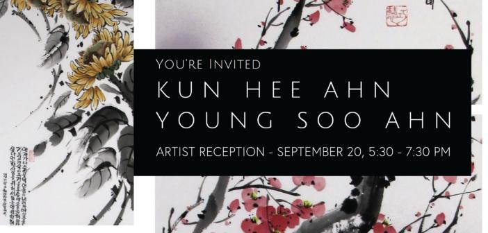 Kun Hee Ahn & Young Soo Ahn Artist Reception