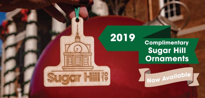 2019 City of Sugar Hill Ornament