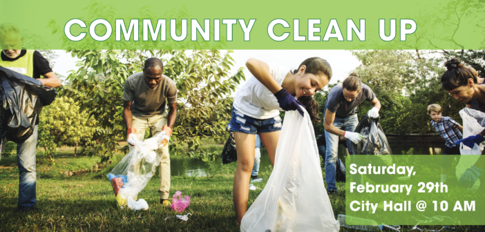Winter 2020 Community Clean Up