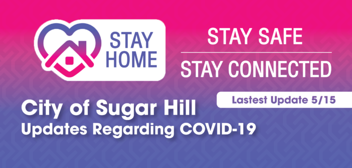 City of Sugar Hill Updates Regarding COVID-19