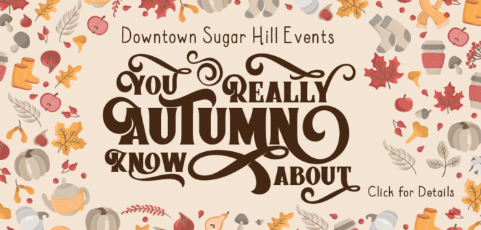 October Events in Downtown Sugar Hill