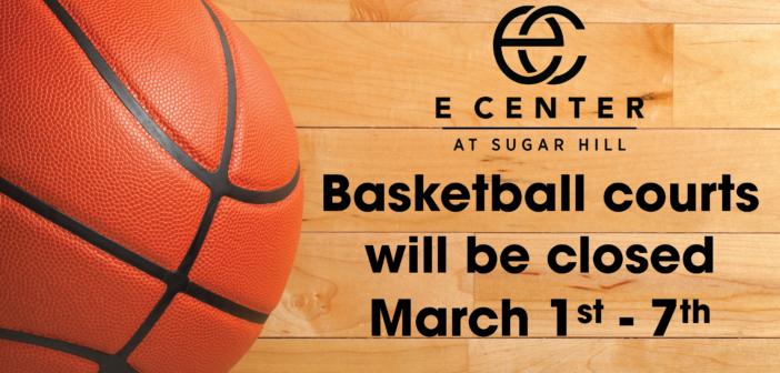 E Center Gymnasium-Temporary Closure