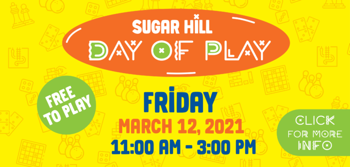 City of Sugar Hill Presents Day of Play 2021