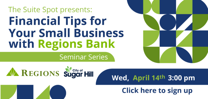 Financial Tips for Your Small Business Webinar