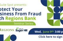 June 9 Regions and Suite Spot Business Development Seminar